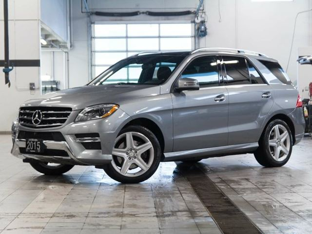 Vehicle details for 2015 mercedes benz ml350 review