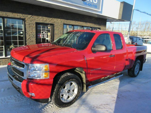 2010 chevrolet silverado 1500 lt 4x4 extended cab 6 6 ft box 143 5 in wb edmonton alberta. Black Bedroom Furniture Sets. Home Design Ideas