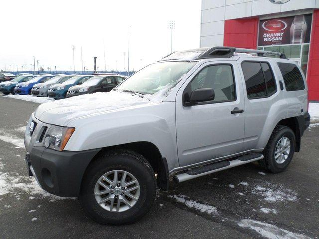 2014 nissan xterra s 4x4 cruise silver groupe beaucage. Black Bedroom Furniture Sets. Home Design Ideas