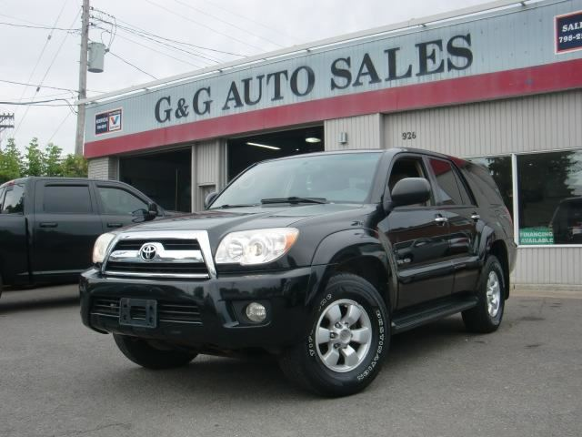 2007 toyota 4runner v6 sr5 ottawa ontario used car for. Black Bedroom Furniture Sets. Home Design Ideas