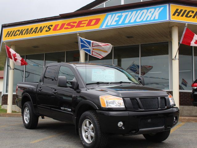 2012 NISSAN TITAN SV Crew Cab 4WD in Mount Pearl, Newfoundland And Labrador