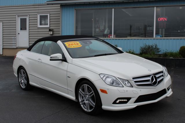 2012 mercedes benz e350 cabriolet white topsail auto for Plaza mercedes benz