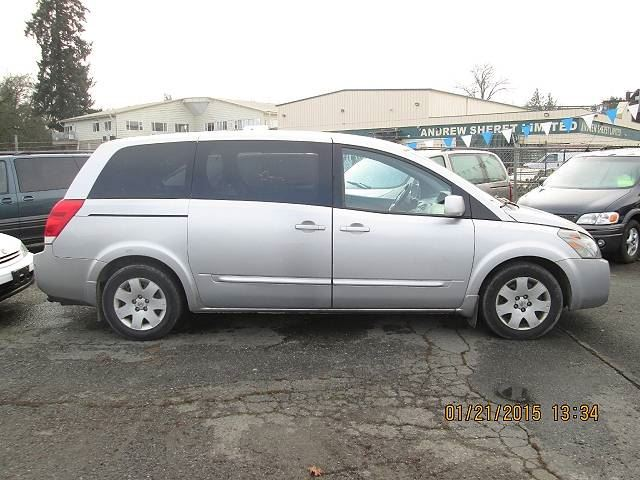 2004 NISSAN QUEST 3.5 S in Koksilah, British Columbia