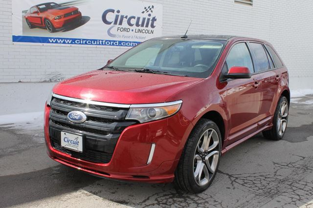 2013 ford edge sport awd22 nav toit montreal north quebec used car for sale 2006503. Black Bedroom Furniture Sets. Home Design Ideas