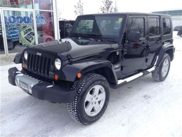 2010 jeep wrangler unlimited sahara winnipeg manitoba used car for. Cars Review. Best American Auto & Cars Review