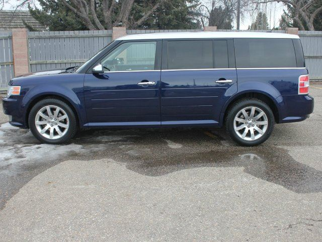 2011 ford flex limited 4dr all wheel drive blue clean car for sale. Black Bedroom Furniture Sets. Home Design Ideas