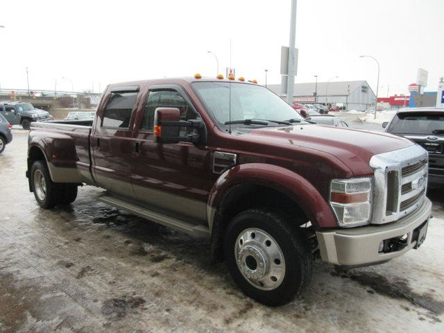 used 2008 ford f 450 lariat 4x4 sd crew cab 172 in wb edmonton. Black Bedroom Furniture Sets. Home Design Ideas