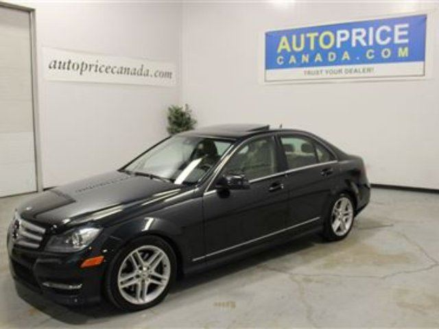 2012 Mercedes Benz C Class Base London Ontario Used Car