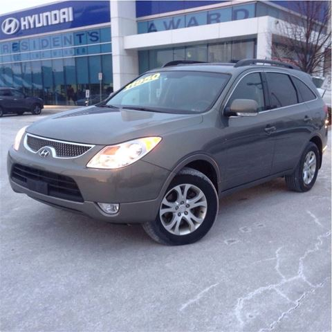 2008 hyundai veracruz gl light green hyundai of oakville. Black Bedroom Furniture Sets. Home Design Ideas