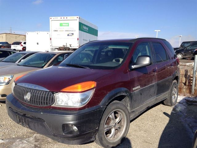 2003 buick rendezvous milton ontario used car for. Black Bedroom Furniture Sets. Home Design Ideas