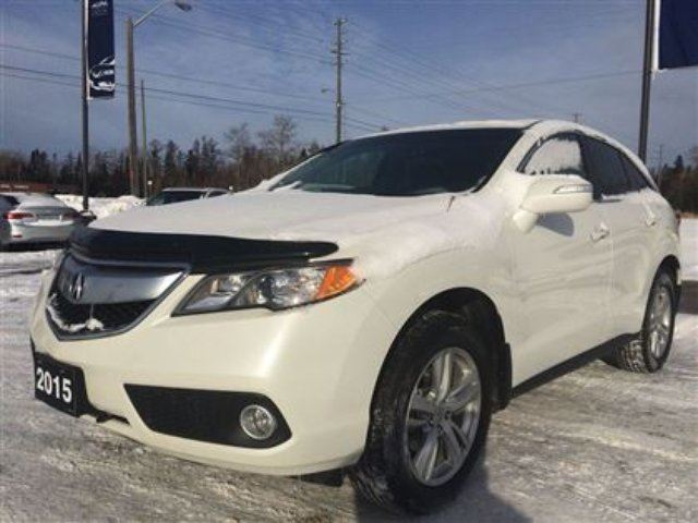 2015 acura rdx base w technology package thunder bay ontario used car for sale 2020537. Black Bedroom Furniture Sets. Home Design Ideas