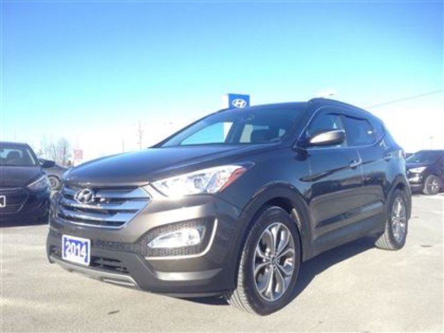 2014 hyundai santa fe 2 0t limited top of the line santa fe demo belleville ontario used car. Black Bedroom Furniture Sets. Home Design Ideas