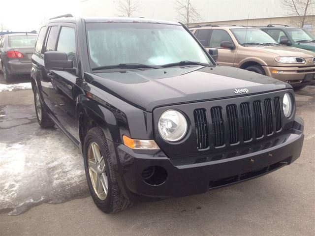 2008 jeep patriot sport black brampton used cars. Black Bedroom Furniture Sets. Home Design Ideas