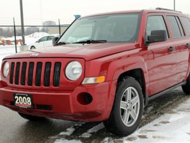 2008 jeep patriot north 4x4 manual certified. Black Bedroom Furniture Sets. Home Design Ideas