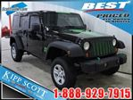 2007 Jeep Wrangler Unlimited X 4x4, Hard Top, V6, Cloth, A/C in Red Deer, Alberta