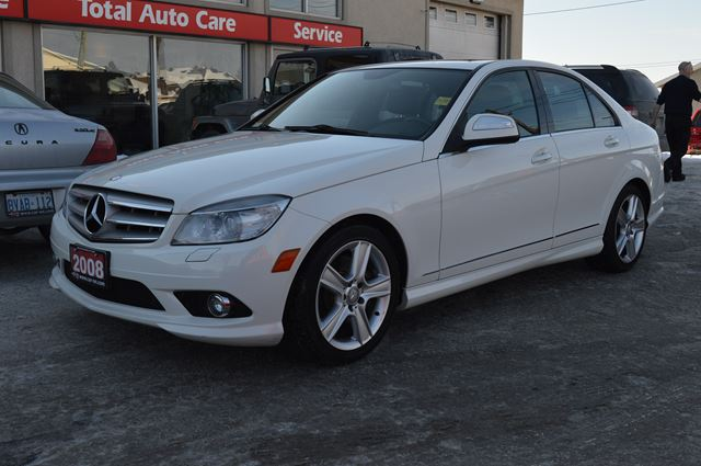 2008 mercedes benz c class c300 4matic sport sunroof