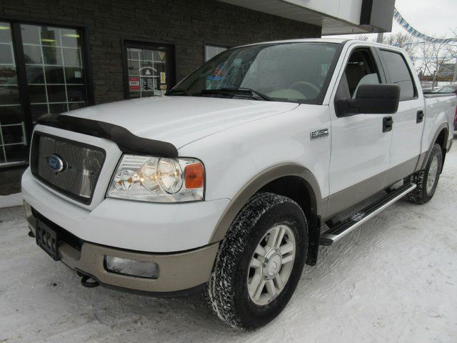 2004 ford f 150 lariat 4x4 supercrew cab styleside 5 5 ft box 139 in wb edmonton alberta. Black Bedroom Furniture Sets. Home Design Ideas