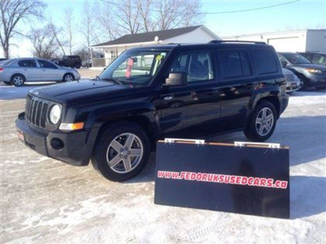 2008 jeep patriot sport black fedoruk 39 s used cars and. Black Bedroom Furniture Sets. Home Design Ideas