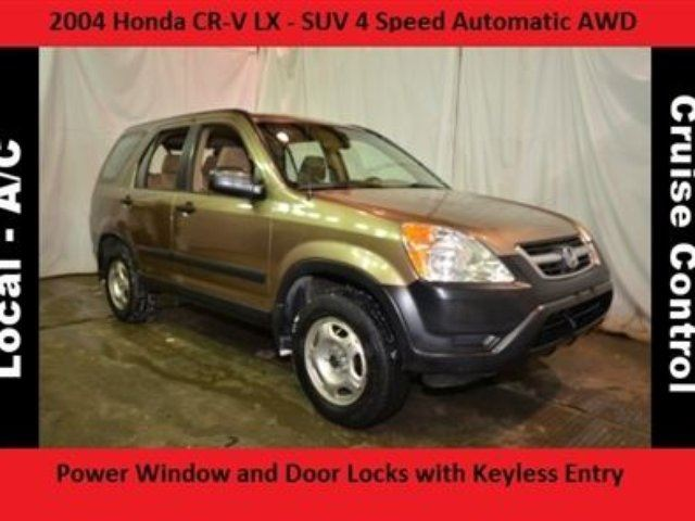 2004 honda cr v lx all wheel drive no accidents calgary alberta used car for sale 2031985. Black Bedroom Furniture Sets. Home Design Ideas