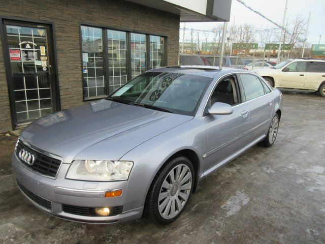2005 Audi A8 L 4 2 4dr All Wheel Drive Quattro Lwb Sedan