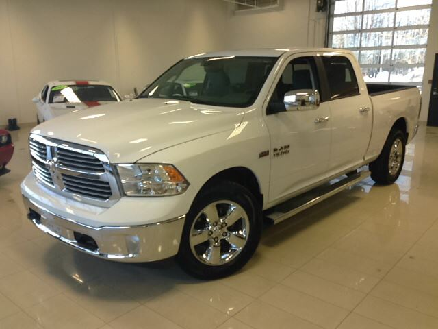 2014 dodge ram 1500 big horn 4x4 1500 hemi blanc crew cab joliette quebec used car for sale. Black Bedroom Furniture Sets. Home Design Ideas