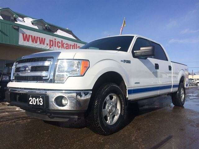 2013 ford f 150 xlt ecoboost crew cab 4x4 bolton ontario used car for sale 2035296. Black Bedroom Furniture Sets. Home Design Ideas