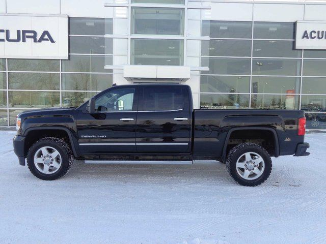 2015 Gmc Sierra 2500 Denali Diesel 2500hd Red Deer