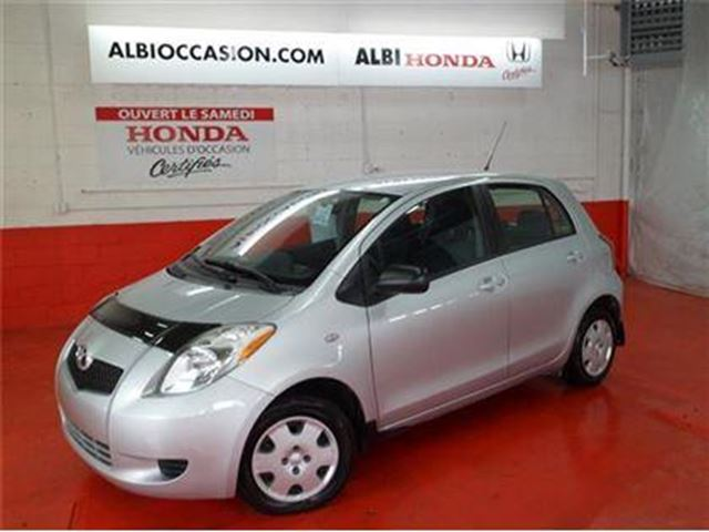 2007 toyota yaris automatique a c grey domaine honda. Black Bedroom Furniture Sets. Home Design Ideas