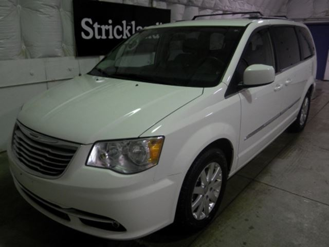 2013 chrysler town and country alpine white strickland 39 s automart stratford. Black Bedroom Furniture Sets. Home Design Ideas