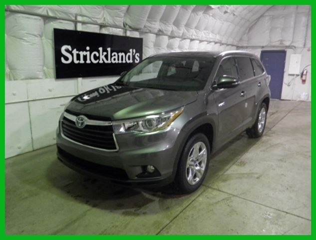 2015 toyota highlander hybrid pre dawn grey m strickland 39 s automart stratford. Black Bedroom Furniture Sets. Home Design Ideas