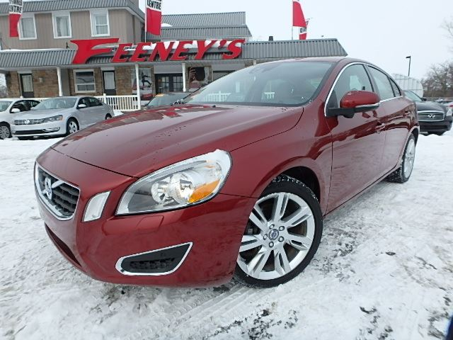 2011 volvo s60 t6 awd sunroof loaded red feeney car. Black Bedroom Furniture Sets. Home Design Ideas