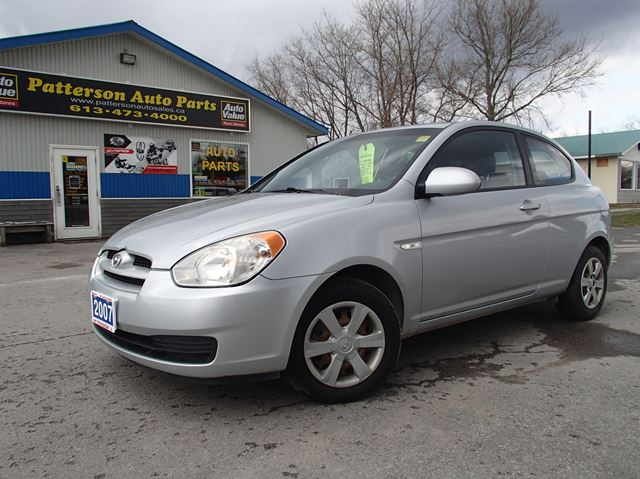 2007 hyundai accent gs w sport pkg grey patterson auto. Black Bedroom Furniture Sets. Home Design Ideas