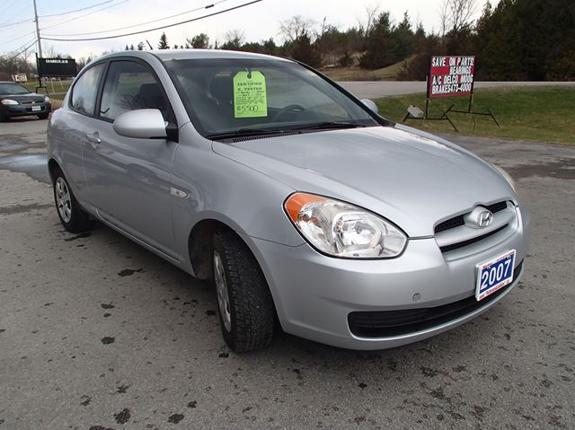 2007 hyundai accent gs w sport pkg madoc ontario car. Black Bedroom Furniture Sets. Home Design Ideas