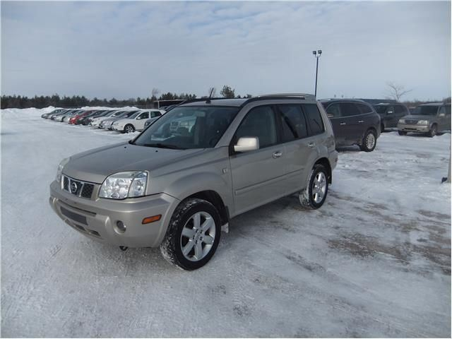 2006 nissan x trail le awd innisfil ontario used car for sale 2043539. Black Bedroom Furniture Sets. Home Design Ideas