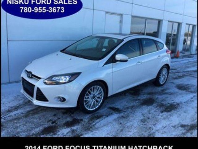 2014 ford focus titanium hatchback navigation leather moonroof and leduc alberta used car for. Black Bedroom Furniture Sets. Home Design Ideas