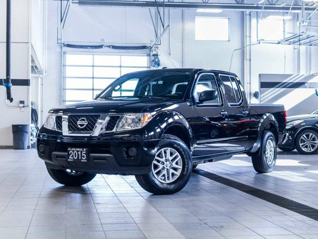 2015 nissan frontier sv crew cab 4wd black kelowna. Black Bedroom Furniture Sets. Home Design Ideas
