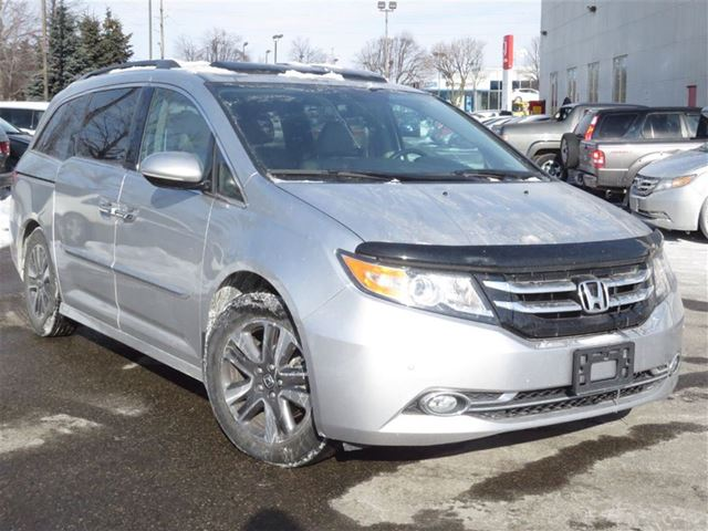 2014 honda odyssey touring demo brampton ontario used car for sale 2049570. Black Bedroom Furniture Sets. Home Design Ideas