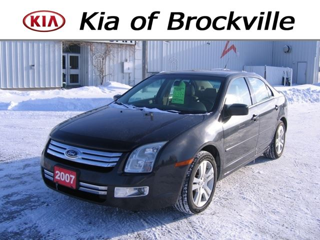 2007 ford fusion sel v6 awd brockville ontario used car. Black Bedroom Furniture Sets. Home Design Ideas