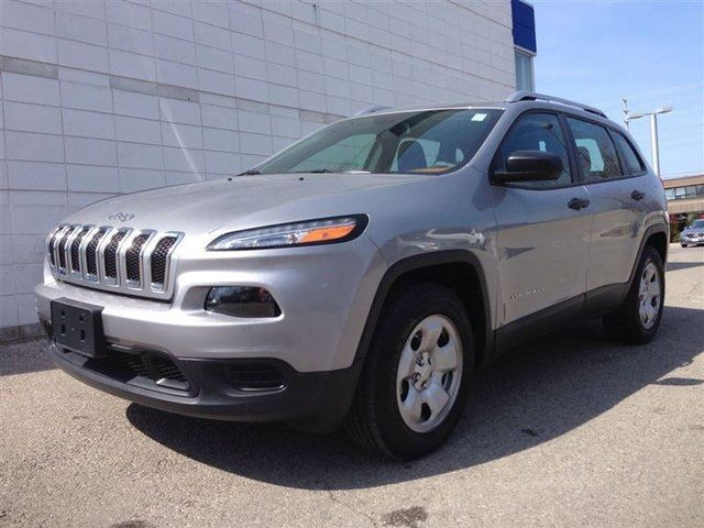 2015 Jeep Cherokee Sport 4x4 4cyl Grey Cooksville Dodge Chrysler