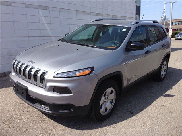2015 jeep cherokee sport mississauga ontario used car for sale. Black Bedroom Furniture Sets. Home Design Ideas
