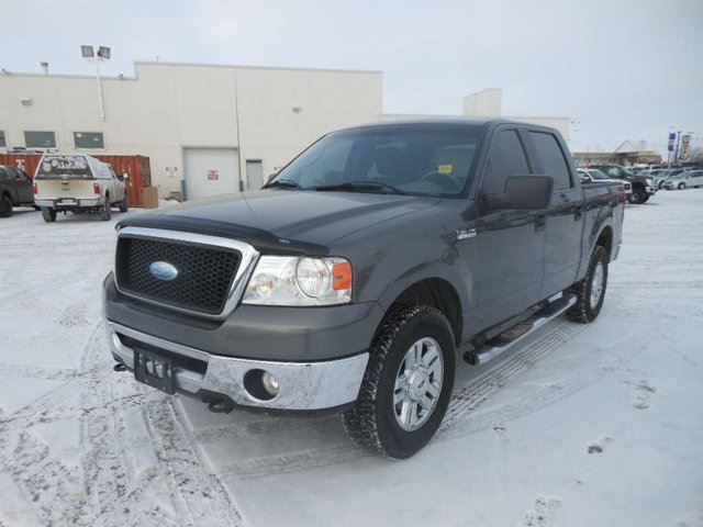 2006 ford f 150 xlt 4x4 supercrew cab styleside 5 5 ft box 139 in wb grey capital motors. Black Bedroom Furniture Sets. Home Design Ideas