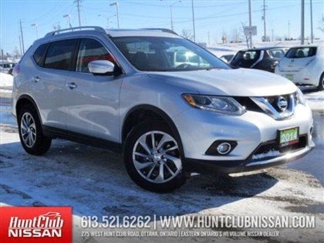 2014 nissan rogue sl awd premium navigation ottawa ontario used car for sale 2055966. Black Bedroom Furniture Sets. Home Design Ideas