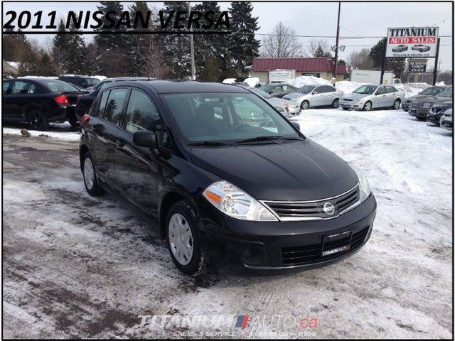 2011 nissan versa new tires brakes one owner power group london ontario used car for. Black Bedroom Furniture Sets. Home Design Ideas