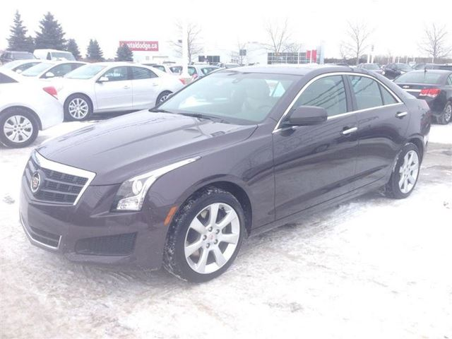 2014 cadillac ats 2 0 turbo ottawa ontario used car for sale 2057205. Black Bedroom Furniture Sets. Home Design Ideas