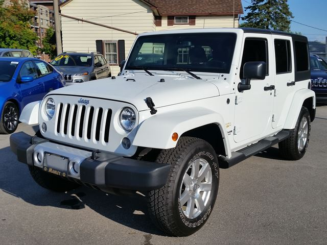 2014 jeep wrangler unlimited sahara lindsay ontario used car for. Cars Review. Best American Auto & Cars Review