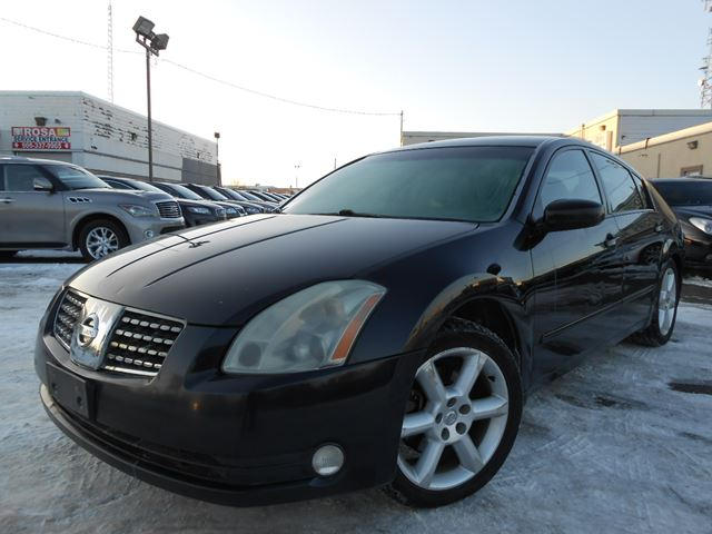 2004 Nissan Maxima Se Leather Sunroof Black Rogers