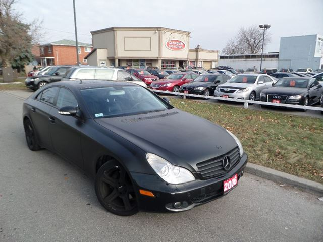 2006 mercedes benz cls class cls 500 custom matt wrap navi. Black Bedroom Furniture Sets. Home Design Ideas