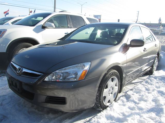 2007 honda accord dx g auto 3 years warranty mississauga ontario used car for sale 2059814. Black Bedroom Furniture Sets. Home Design Ideas
