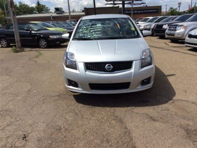 2012 nissan sentra 2 0 sr edmonton alberta used car for. Black Bedroom Furniture Sets. Home Design Ideas