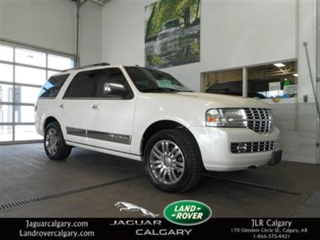 2010 Lincoln Navigator Ultimate Package White Land Rover
